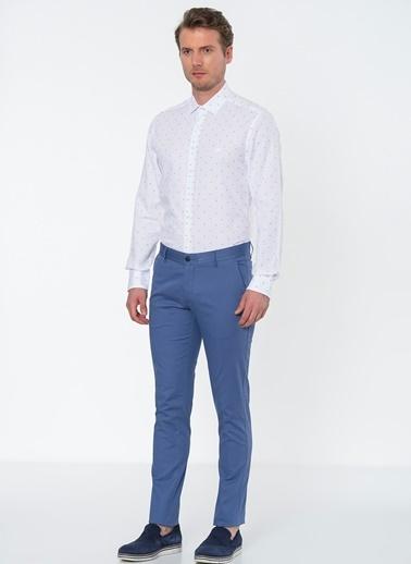 Beymen Business Klasik Uzun Kollu Gömlek Bordo
